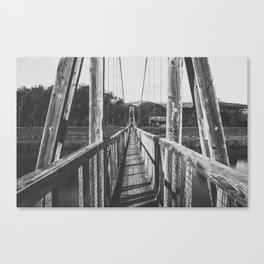 Black and White Bridge - Kauai, Hawaii Canvas Print