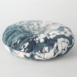 Sea Spark Floor Pillow