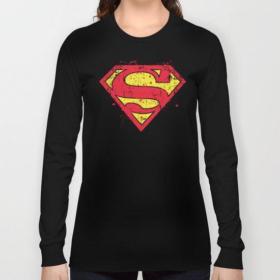Super Man's Splash Long Sleeve T-shirt