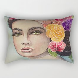 Flower Power by Andrea Rectangular Pillow