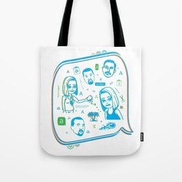 gurlfriend Tote Bag