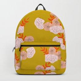 Vintage Ochre Florals Backpack