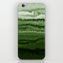 WITHIN THE TIDES FOREST GREEN by Monika Strigel iPhone Skin
