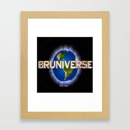 Bruniverse Framed Art Print