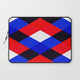Red, White and Blue - 3 Laptop Sleeve