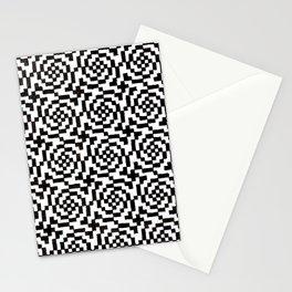 Geometric Black & White Stationery Cards