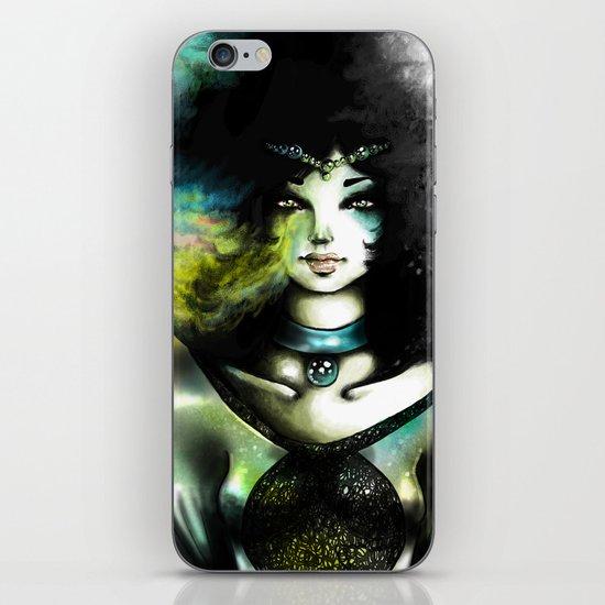 THE GREEN WOMAN iPhone & iPod Skin