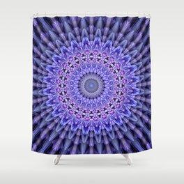 Lilac glamour mandala Shower Curtain