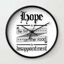 Librarian quote, Warhammer 40K Wall Clock
