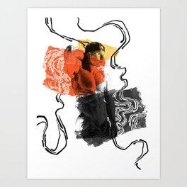 George - 3 Nooddood Art Print