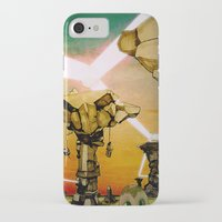grid iPhone & iPod Cases featuring Grid by Zack Rogers