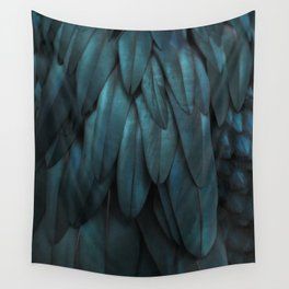 DARK FEATHERS Wall Tapestry