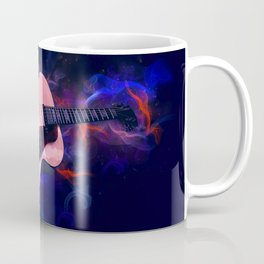 Guitar Art Coffee Mug