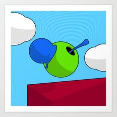 Colour Blob #3 Art Print