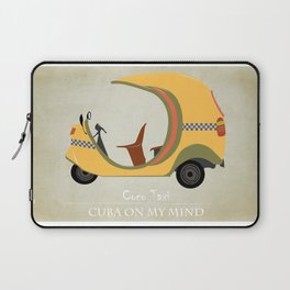 Coco Taxi - Cuba in my mind Laptop Sleeve