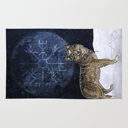 Wolf Moon Rug