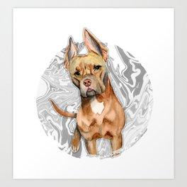 Bunny Ears 4 Art Print