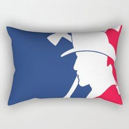 Major League Firefighter Rectangular Pillow