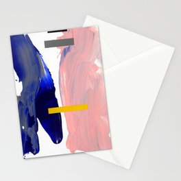 Untitled (Abstract Composition 2017008) Stationery Cards