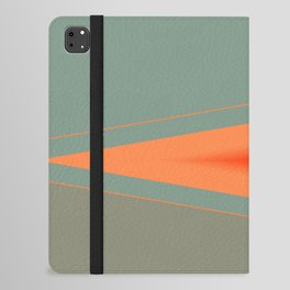 Army Green Orange Stripe iPad Folio Case