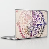 ornate Laptop & iPad Skins featuring Voyager II by Jenndalyn