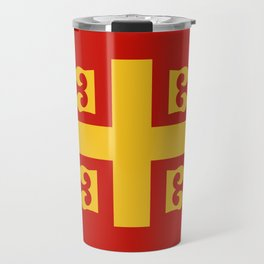 Flag of Byzantine Empire Travel Mug