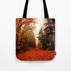 canopy of trees Tote Bag