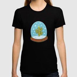 Cactus Snow Globe T-shirt