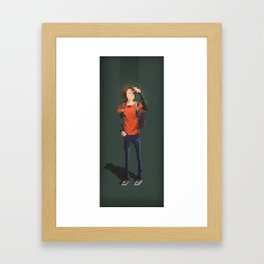 Ellie The last of us Pixel Art Framed Art Print