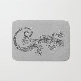 ornate gecko Bath Mat