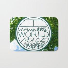 Little World, Trees Bath Mat