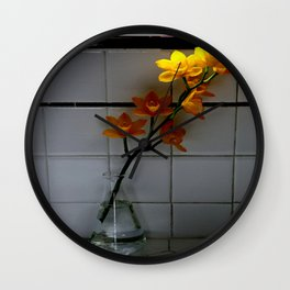 Kitchen Counter Culture Wall Clock