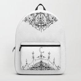 Moonlit Lotus Backpack