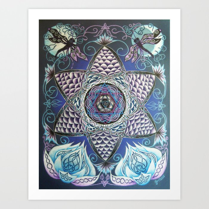 Fish Eye / Kalasilm Art Print