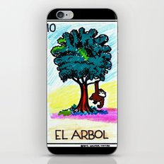 Loteria Ape #10: El Arbol iPhone & iPod Skin