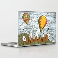balloons Laptop & iPad Skins featuring BALLOONS by Matthew Taylor Wilson