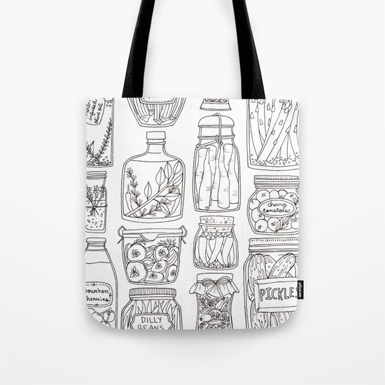 Pickles Print Tote Bag