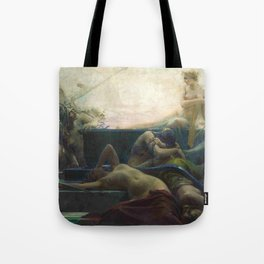 Finis (The End of All Things) Magical Realism Greek Mythology by Maximilian Pirner Tote Bag