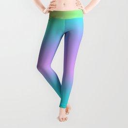 Aesthetic Rainbow Gradient Swish Leggings