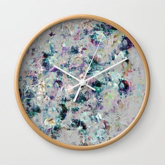 Mineral Wall Clock