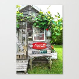 Summer Shed Canvas Print