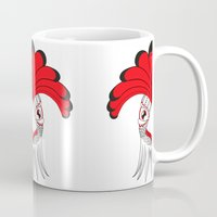 cock Mugs featuring Cock by HandeAylan