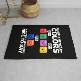 Complimentary Colors Rug