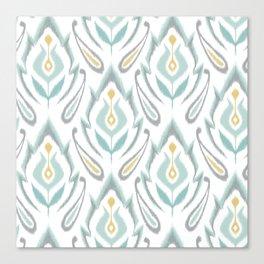 Soft Ikat Canvas Print