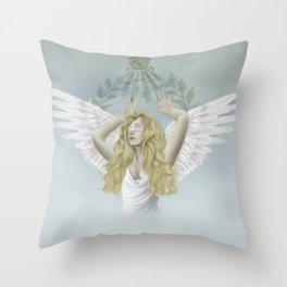 Invictus Throw Pillow