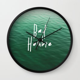 Proud Bad Hombre Wall Clock