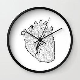 Ubi cor, ibi domus Wall Clock