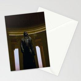 Thomas Jefferson @ his Memorial in Washington DC Stationery Cards