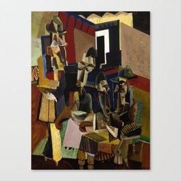 Max Weber - The Visit Canvas Print