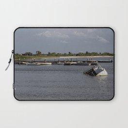 Sunken Ship, Davis Islands, Tampa, FL Laptop Sleeve